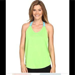 Nike Neon Green Elastika Dri Fit Training Tank